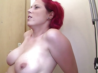Young sexy German redhead